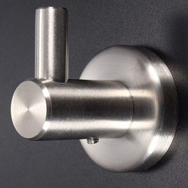 Perchero de pared inox
